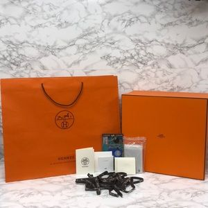 4ad84315159274 Authentic Hermes XL Birkin 35 Storage Box Gift Set